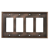 Switch plate 4 Decora - Contemporary Style